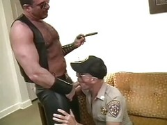 concupiscent gay Cops David Griffin And Kent Burke sucking weenie