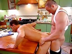 Gio Lupo & Paolo Suriano; After Work cumfest In The Kitchen