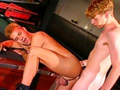 naive Fratboy gets Exploited By thick studs on campus!
