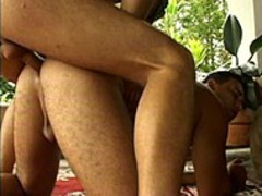 Two naughty studs enjoy Parseionate Sex