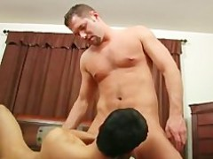 Two str8 friends bang and suck!