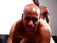 Two black guys With Food Fetish slam Hard