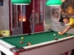 Sex In Billiard Room