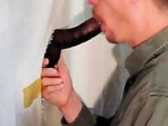 Thellock 8 Inch dick receives oral pleasure at Gloryaperture