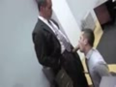 My Boss pounds My Virgin a-hole In The Office