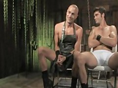 delicious twink handcuffed Up and hammered