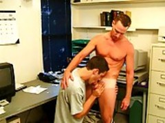 Scott mann copulates howdys homosexual lover At The Office