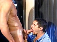 Three mans deep throat And pound Each Others butt holes!