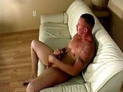 Shane jerk offs enjoying Self Masturbation
