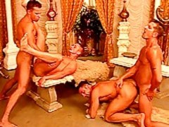 homosexual chaps fuck One some other In A hoety orgy