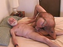 older men Pet Each Other
