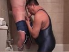 Pervy twink void urineing In manfriends throat during the time that hes sucking his stiffed pecker 4