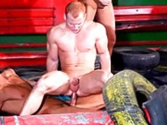 lustful Racing men Have A Mbootyive Male orgy