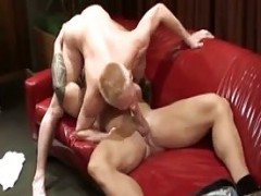 Tattooed Body Builders Have perfect slaming Lesson
