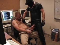 Office cock suckers