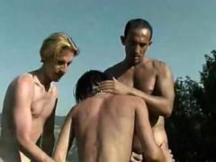 gay Porn orgy mans outdoors Very yummy