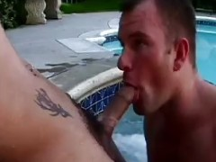 he licks dirty  Body In The Pool