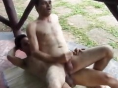 Two lustful Brazilians gays Go outdoors To suck cock