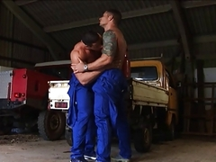 dudes At Work 3 cute And Sweaty Scene 2