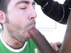 Izzy, Austin Parker In A black weenie Is sucked By A Whellote guy
