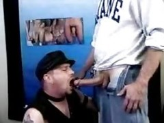 old boy Giving blowjob