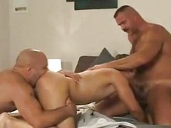 lewd threesome doggy style pound