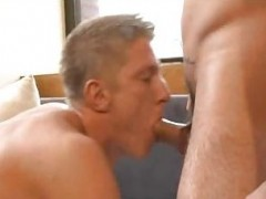 dude In pantyhose receives Rimmed