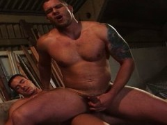 Two Muscle twinks banging Each Other