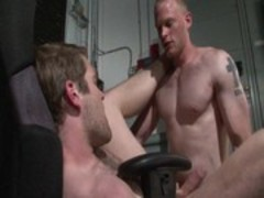 Colby Keller and Brandon bandbangs