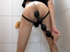 new toy: anal Beads Part I