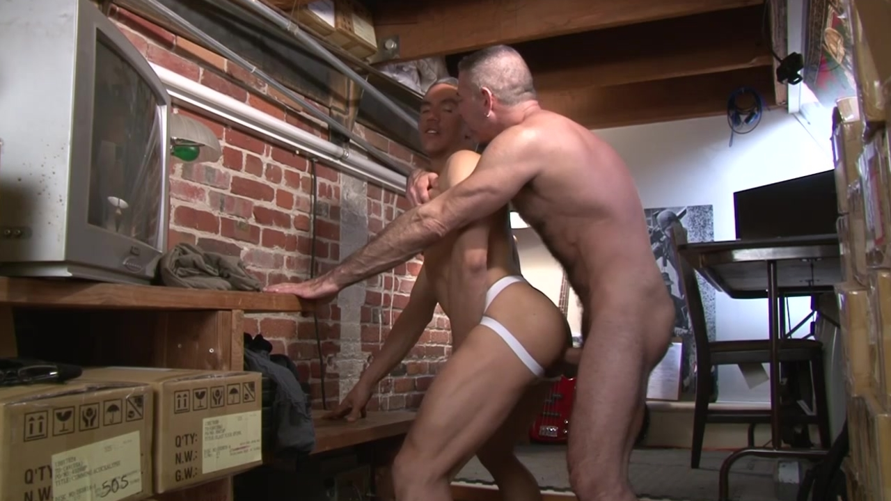 Blindfmatureed And Bent Over - Factory video