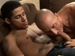 cock juiced deep throat blow job stimulation  And ass