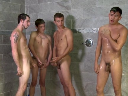 Shower fun With boy boys