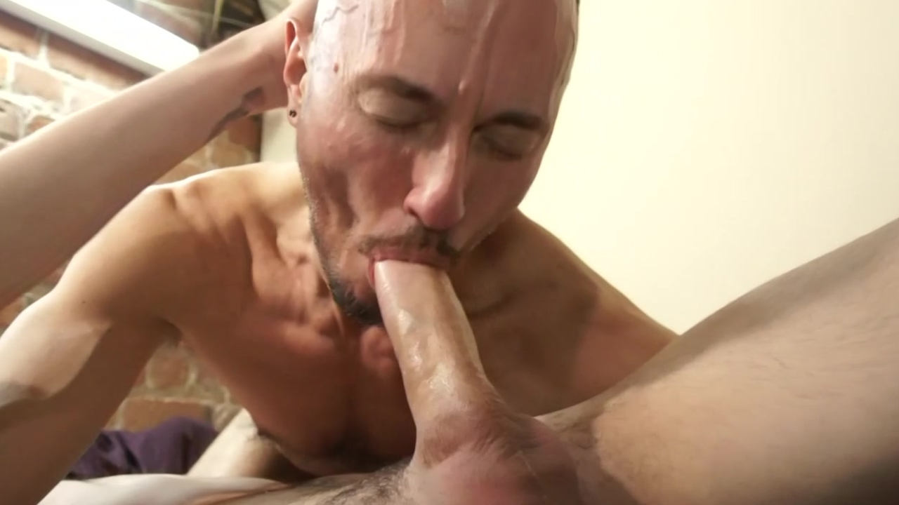nudebacking And blowing - Factory video