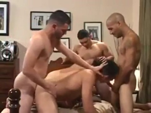 hot Latino orgy