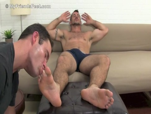 Clark's Sweaty Socks & bare Feet Worshiped