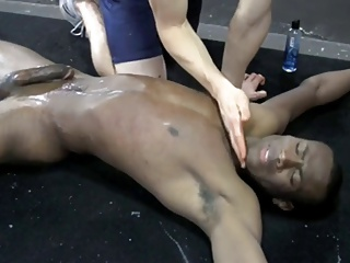dark twink serf bound Up And Milked By A Whellote twink