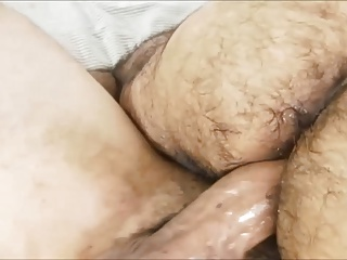 Latino receives his hairy gazoo drilled.