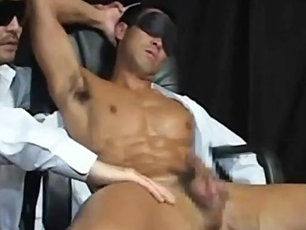 blow job-stimulation A Muscle man
