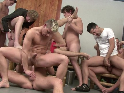 Jack Off orgy