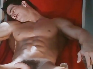 Muscled daddy Dave Lash Jerks Off And love juices