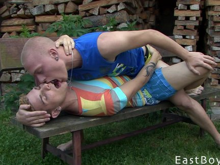 lustful twinks kissing And sucking