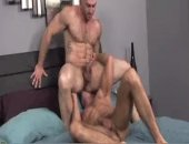 gorgeous daddy receives his constricted a-hole Destroyed By A humongous rod