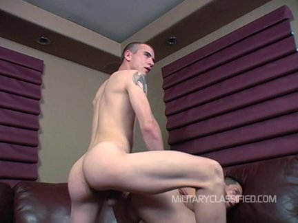 plowl Sarge pounds Doggie Style+shoots On anal!