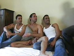 lusty 3some homosexual banging