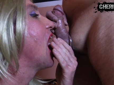 Sissy training - Real Hard blow job-stimulation!