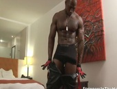 lascivious black HUNK loves STRokING helloS mpooperhole ive cock