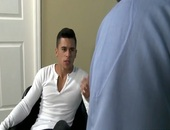 LATINO naughtytie TAKES SECURITY dadDY'S big penis