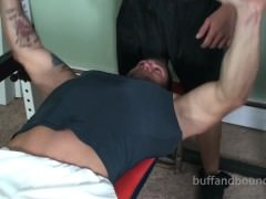 Buff And tied - Muscle tied And Worshowdypped