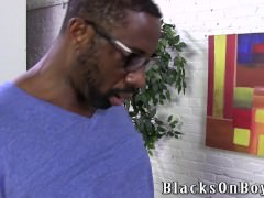 black guy Catcthis chabs man Watching Porn